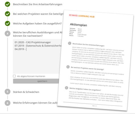 swisslearninghub-digitales-bewerbungstraining-aktionsplan-factsheet