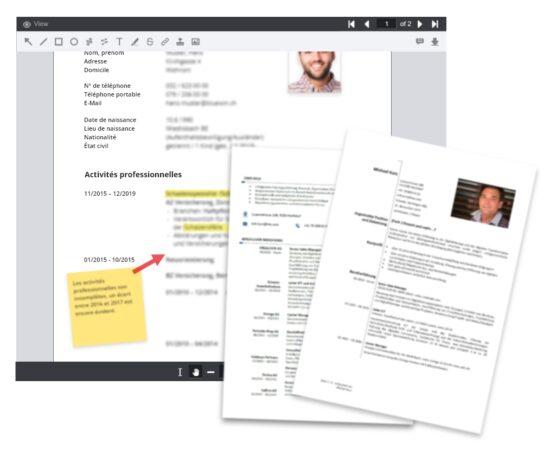Online Coaching - Factsheet französisch